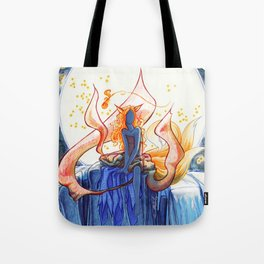 The Fox of Many Tales Tote Bag
