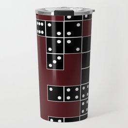 Domino Pattern Travel Mug