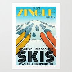 Zingle Art Print