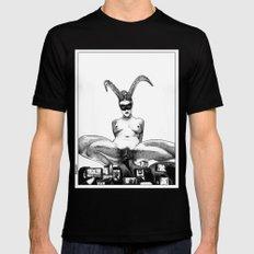 asc 626 - L'unicorne mâle (The performers II) Black SMALL Mens Fitted Tee