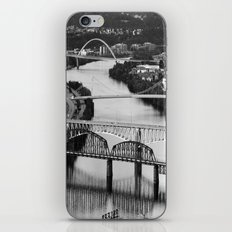 Pittsburgh bridges iPhone & iPod Skin