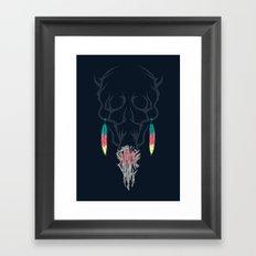 Darkness Within (Color Ver.) Framed Art Print