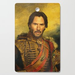 Keanu Reeves - replaceface Cutting Board