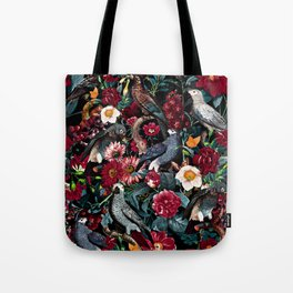 FLORAL AND BIRDS XX Tote Bag