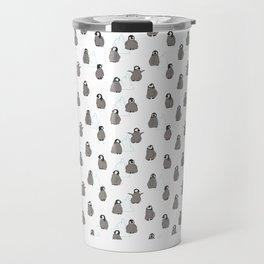 A Waddle of Penguin Chicks Travel Mug