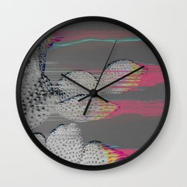The Cactus Interference Wall Clock
