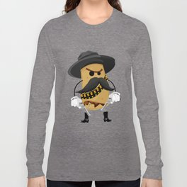 El Beano, El Malo, El Feo. Long Sleeve T-shirt