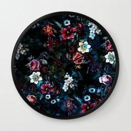 NIGHT GARDEN XI Wall Clock