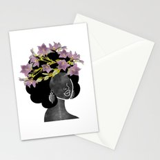 Wildflower Crown II Stationery Cards