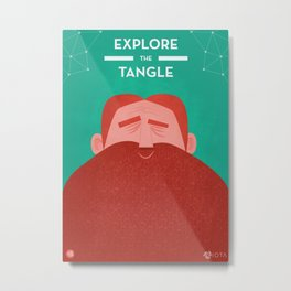 IOTA - Explore the Tangle II Metal Print