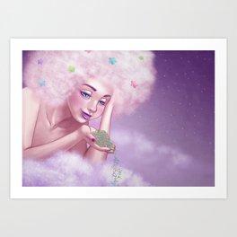 Sweet Dreams in Candy Land Art Print