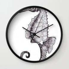 Hippocampus Abdominalis Wall Clock