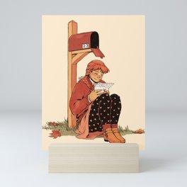 Snail Mail Love Mini Art Print