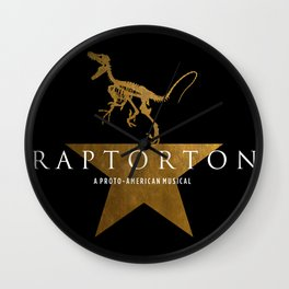 Raptorton: A Proto-American Musical Wall Clock