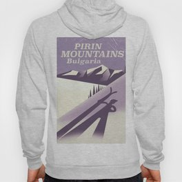 Pirin Mountains Bulgaria Ski Hoody