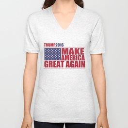 Trump - Make America Great Again Unisex V-Neck