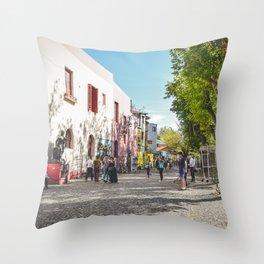 Caminito, Buenos Aires, Argentina Throw Pillow