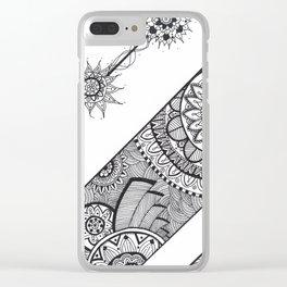 Mandala Clear iPhone Case