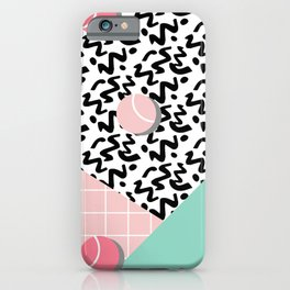 Tennis Pattern #society6 #decor #buyart iPhone Case