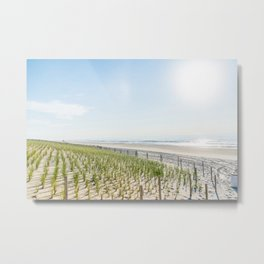 At the Jersey Shore Metal Print