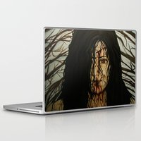 evil dead Laptop & iPad Skins featuring Evil Dead by Lydia Dick