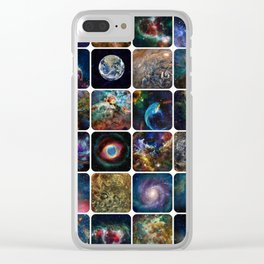 The Amazing Universe - Collection of Satellite Imagery Clear iPhone Case