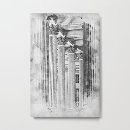St Peter Basilica, Bernini Colonnade Metal Print
