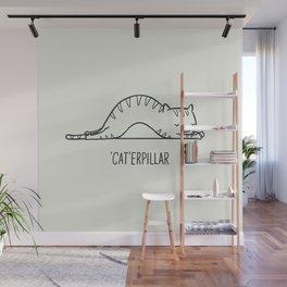 Cat-erpillar Wall Mural