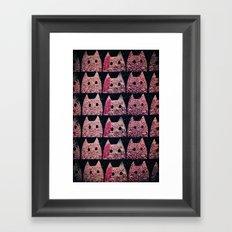 cat-96 Framed Art Print
