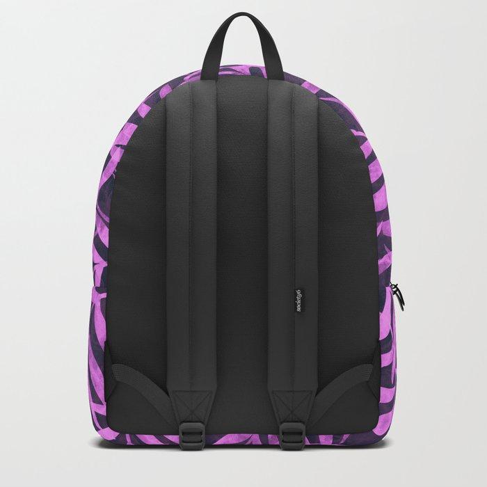 Watercolor Tropical Palm Leaves VIII Backpack
