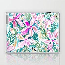 PLUMERIA PARADISE Tropical Floral Laptop & iPad Skin
