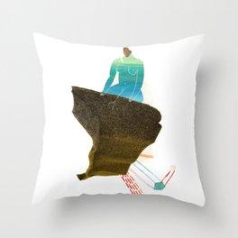 El Malecón Throw Pillow