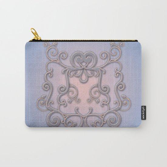 Rose Quartz Serenity Enblem Carry-All Pouch
