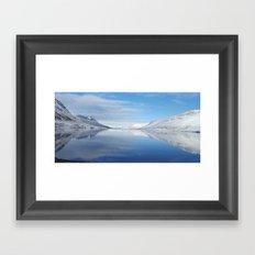 Iceland reflections Framed Art Print