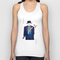 jack nicholson Tank Tops featuring Jack the Joker by Dano77