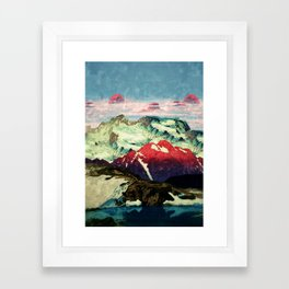 Winter in Keiisino Framed Art Print