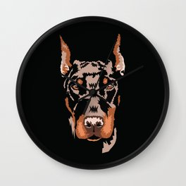 When Dobes cry Wall Clock