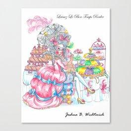 Marie Antoinette: Eat King Cake Canvas Print