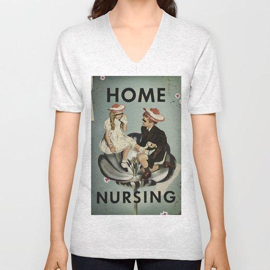 Home Nursing Unisex V-Neck