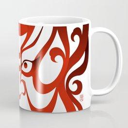 Shibaraku red - a Kabuki Portrait Coffee Mug