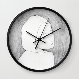 Naked Wall Clock