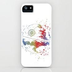 Death Star Star . Wars iPhone (5, 5s) Slim Case