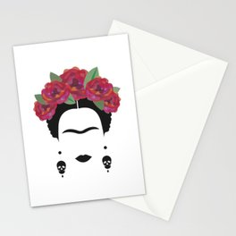 Frida Kahlo Feminist Stationery Cards