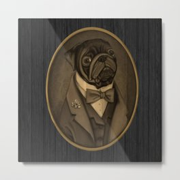 Nobility Dogs Metal Print