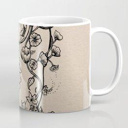 Floral Shroom Torso Coffee Mug