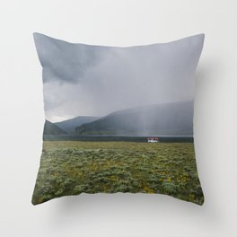 Colorado Taylor Park Reservoir  Throw Pillow