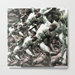 Tuileries Garden sculpture, Paris France Metal Print