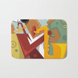 a band Jazz Bath Mat