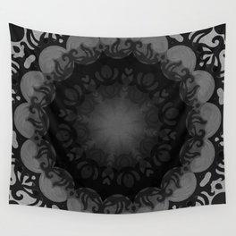 Dark Mandala #1 Wall Tapestry