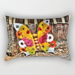 Iron Butterfly Rectangular Pillow